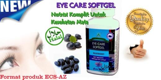Manfaat Eye care softgel untuk kesehatan mata